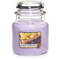 YANKEE CANDLE Classic Lemon Lavender, közepes méretű, 411 gramm - Gyertya