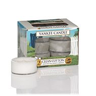 YANKEE CANDLE Clean Cotton 12 × 9,8 g - Gyertya