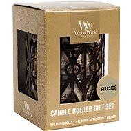 WOODWICK Set Fireside 3 × 31 g - Gyertya