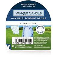 YANKEE CANDLE Clean Cotton 22 g - Illatos viasz