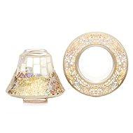 YANKEE CANDLE Gold and Peral árnyékoló és kis méretű tányér - Gyertya tartozékok