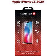 Swissten Case Friendly iPhone SE 2020 készülékhez, fekete - Képernyővédő