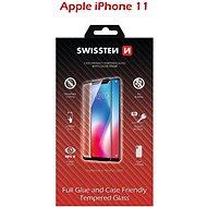 Képernyővédő Swissten Case Friendly  iPhone 11 készülékhez, fekete