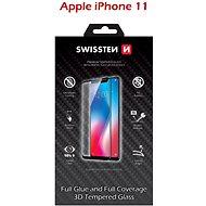 Képernyővédő Swissten 3D Full Glue iPhone 11 készülékhez, fekete