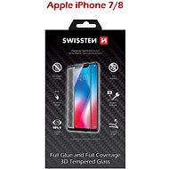 Swissten 3D Full Glue iPhone 7/ 8 készülékhez, fehér
