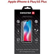 Swissten 3D Full Glue iPhone 6 Plus/ 6S Plus készülékhez, fekete - Képernyővédő