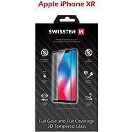 Képernyővédő Swissten 3D Full Glue iPhone XR készülékhez, fekete