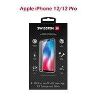 Swissten 3D Full Glue iPhone 12/12 Pro - Képernyővédő