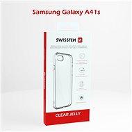 Swissten Clear Jelly Samsung Galaxy A41-hez - Mobiltelefon hátlap