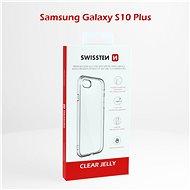 Swissten Clear Jelly Samsung Galaxy S10 plus-hoz - Mobiltelefon hátlap