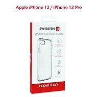 Swissten Clear Jelly Apple iPhone 12/iPhone 12 Pro-hoz - Mobiltelefon hátlap