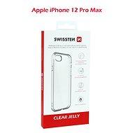 Swissten Clear Jelly Apple iPhone 12 Pro Max készülékhez - Mobiltelefon hátlap