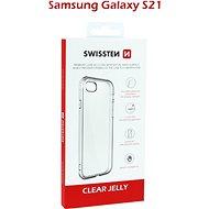 Swissten Clear Jelly a Samsung Galaxy S21  készülékhez átlátszó - Mobiltelefon hátlap