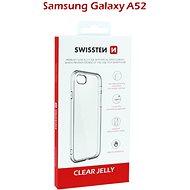 Swissten Clear Jelly Samsung Galaxy A52 készülékhez - átlátszó - Mobiltelefon hátlap