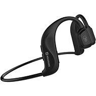 Swissten Bone Conduction Bluetooth fekete - Vezeték nélküli fül-/fejhallgató