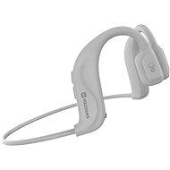 Swissten Bone Conduction Bluetooth fehér - Vezeték nélküli fül-/fejhallgató