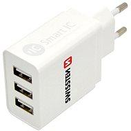 Hálózati adapter Swissten hálózati adapter SMART IC 3 x USB 3.1A