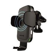 Telefontartó Swissten W2-AV5 vezeték nélkül tölthető tartó a szellőzőnyílásba