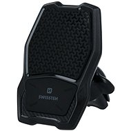 Swissten WM1-AV3 tartó vezeték nélküli töltéssel a szellőzőnyílásba - Telefontartó