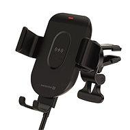 Swissten GW1-AV5 gravity tartó vezeték nélküli töltéssel szellőzőrácsba - Telefontartó