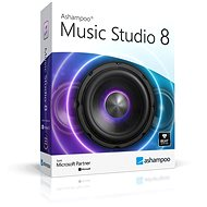 Ashampoo Music Studio 8 (elektronikus licenc) - Audio szoftver