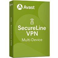 Avast SecureLine VPN Multi-eszköz 5 eszközhöz 12 hónapig (elektronikus licenc) - Biztonsági szoftver
