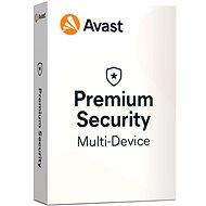 Avast Premium Security Multi-device (akár 10 eszköz) 12 hónapig (elektronikus licenc) - Antivírus