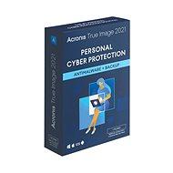 Adatmentő szoftver Acronis True Image 2021 Essential 1 számítógépre 1 évre (elektronikus licenc) - Zálohovací software