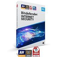 Bitdefender Internet Security 2020 (elektronikus licenc) - Antivírus szoftver