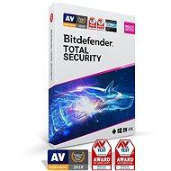 Bitdefender Total Security öt eszközre 1 hónapig (elektronikus licenc) - Internet Security