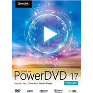 Cyberlink PowerDVD 17 Standard (elektronikus licenc) - Irodai szoftver