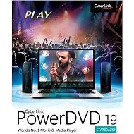 Cyberlink PowerDVD 19 Standard (elektronikus licenc) - Irodai szoftver