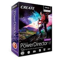 CyberLink PowerDirector 17 Ultimate (elektronikus licenc) - Elektronikus licensz