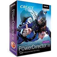 CyberLink PowerDirector 18 Ultimate (elektronikus licenc) - Videószerkesztő program