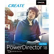 CyberLink PowerDirector 18 Ultra (elektronikus licenc) - Videószerkesztő program