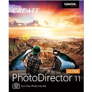 CyberLink PhotoDirector 11 Ultra (elektronikus licenc) - Videószerkesztő program
