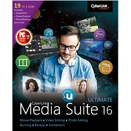 Cyberlink Media Suite 16 Ultimate (elektronikus licenc) - Irodai szoftver
