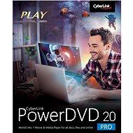 Cyberlink PowerDVD 20 Pro (elektronikus licenc) - Irodai szoftver