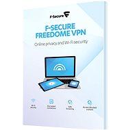 F-Secure FREEDOME 3 készülékhez 1 évig (elektronikus licenc) - Antivírus szoftver