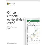 Microsoft Office 2019 Otthoni és kisvállalati verzió (elektronikus licenc)
