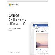 Microsoft Office 2019 Otthoni és diákverzió  (elektronikus licenc) - Irodai szoftver