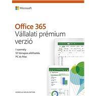 Microsoft Office 365 Vállalati prémium verzió (elektronikus licenc) - Elektronikus licensz