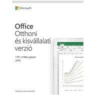 Irodai szoftver Microsoft Office 2019 Otthoni és üzleti vállalkozások (elektronikus licenc)