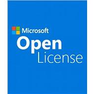 1 kliens a Microsoft SQL Server 2017 Standard Edition OLP-hez, USER CAL (elektronikus licenc) - Szerver ügyfél licenc