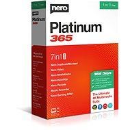 Nero Platinum 365 CZ BOX - Író szoftver