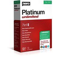Nero Platinum Korlátlan CZ BOX - Szoftver