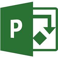 Microsoft Project Online - Plan 3 (havi előfizetés) - Elektronikus licensz