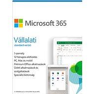 Irodai szoftver Microsoft 365 Vállalati standard verzió (elektronikus licenc)