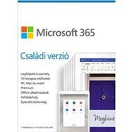 Microsoft 365 Családi verzió (elektronikus licenc) - Irodai szoftver