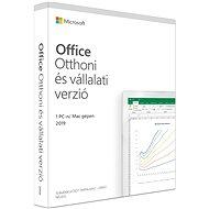 Irodai szoftver Microsoft Office 2019 Otthoni és vállalati verzió HU (BOX)